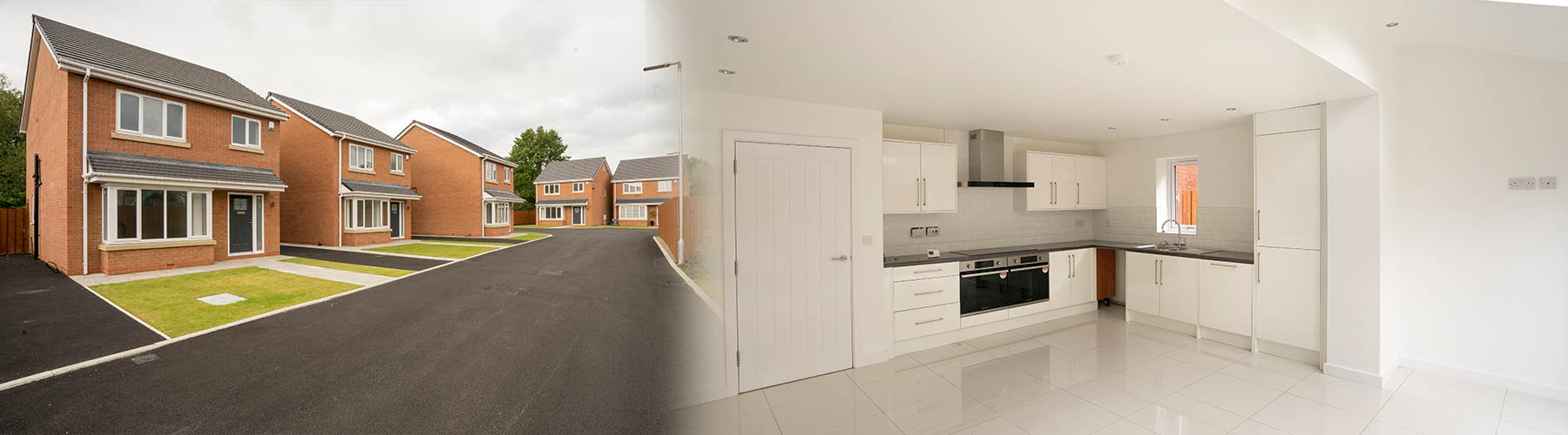 Our Kitchen Installers team, installed five brand new kitchens throughout this new build in Liverpool.