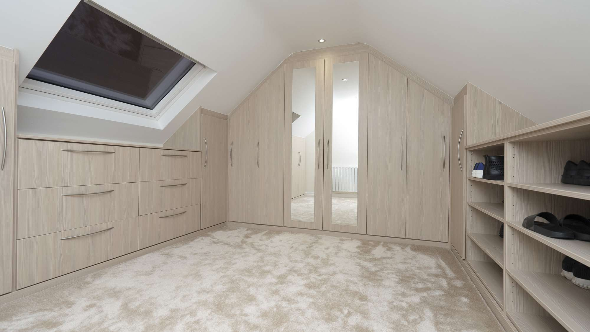 Bespoke loft bedroom furniture, Liverpool